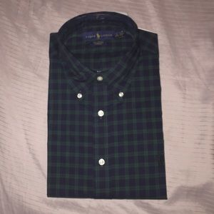 Long sleeve Polo dress shirt